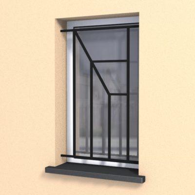 Grille en ferronnerie Korner pour fenêtres